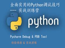 Python全面实用的调试(Debug排错)技巧-实战训练营