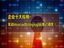 [˙张彬Linux]企业十大应用-实战mariadb/mysql①