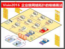 Visio2016 企业级网络拓扑的吸睛大法(画法)
