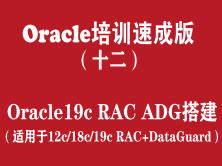 Oracle培训学习版(12):Oracle19cRAC+ADG高可用布署_DataGuard搭建