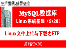 Linux文件上传与下载之FTP_MySQL数据库学习入门系列教程09
