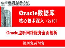 Oracle监听网络服务多面剖析_Oracle视频教程_基础深入与核心技术02
