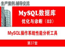 UNIX/LINUX操作系统性能工具_MySQL数据库性能优化与运维诊断03