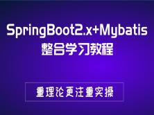 SpringBoot2.x+Mybatis整合学习教程