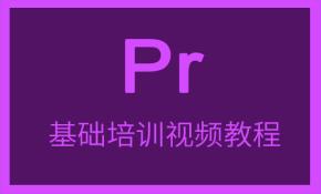 Premiere基础培训视频课程(剪辑技巧+制作经验+实例应用)