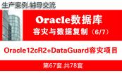 Oracle专题V1.0(单机,RAC,DataGuard)