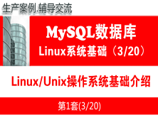Linux/Unix操作系统基础知识_MySQL数据库学习入门系列教程03