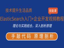 ElasticSearch入门+企业开发视频教程