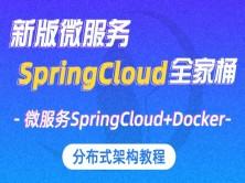 新SpringCloud视频教程 分布式架构教程SpringCloud+Docker