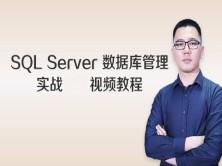 SQL Server 数据库管理实战视频教程