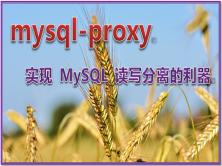 实现 MySQL 读写分离的利器 mysql-proxy