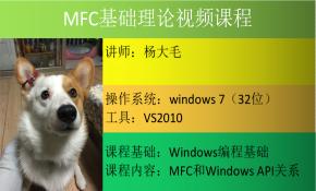 MFC基础理论视频课程