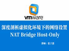 深度剖析虚拟化环境下的网络设置:NAT Bridge Host-Only 视频课程