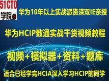 2020年华为HCIP/HCNP/数通Datacom/路由交换/实验/视频/教程/网工课教程赠题库