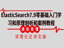 ElasticSearch7.X零基础入门学习和原理剖析和案例教程