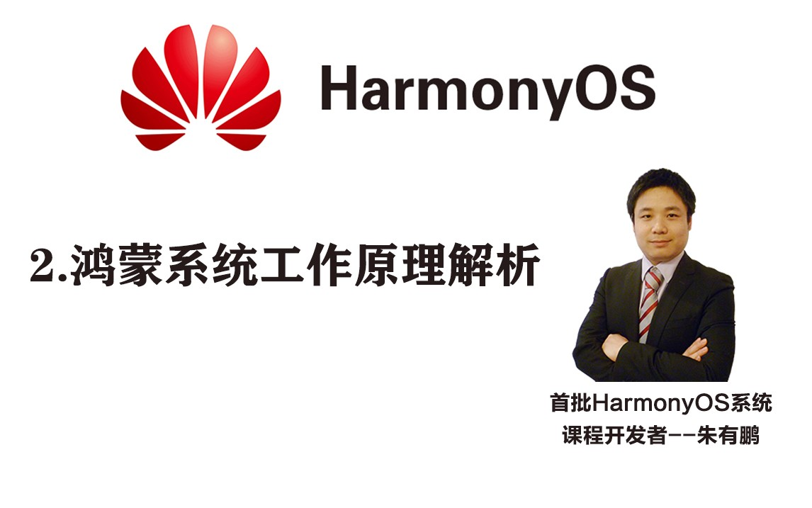 HarmonyOS工作原理解析