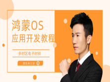 [唐佐林]HarmonyOS(鸿蒙)应用程序开发教程教你实现多时区电子时钟