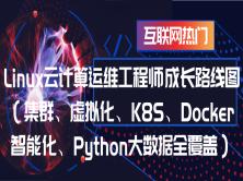 Linux云计算运维工程师路线图(集群、虚拟化、K8S、Docker、智能化、Python大数据)
