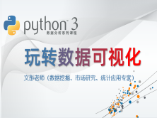 Python数据分析系列视频课程--玩转数据可视化