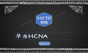 华为HCNA教程-Wakin出品