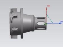 UG五轴车铣复合零件编程之叶轮轴