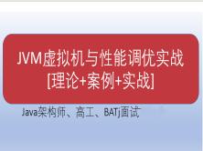 JVM虚拟机与性能调优实战[2020版] —架构师、高工及大厂面试(赠送:笔记+辅助学习资料)