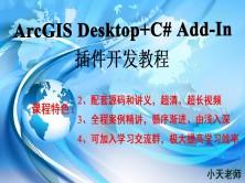 ArcGIS Desktop+C# Add-In插件开发教程