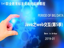1+1职业教育标准化系列视频课程-Java之web交互