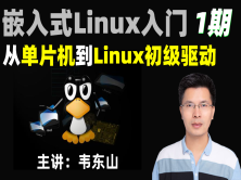 嵌入式Linux入门: 从单片机到Linux初级驱动(韦东山1期)