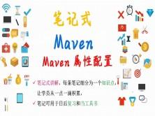 【笔记式】Maven精选讲解--Maven属性配置