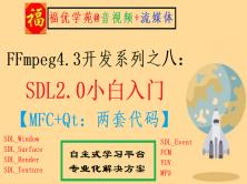 FFmpeg4.3开发系列之八:SDL2.0小白入门