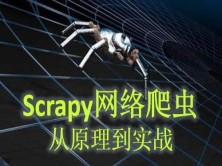 Scrapy网络爬虫从原理到实践(14个项目实战案例,17小时)
