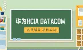 2020华为认证HCIA课程,完整直播课,IE讲师倾力打造