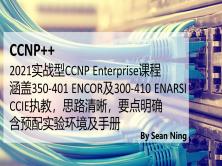 2021思科CCNP Enterprise实战型教程(提供实验环境及手册)