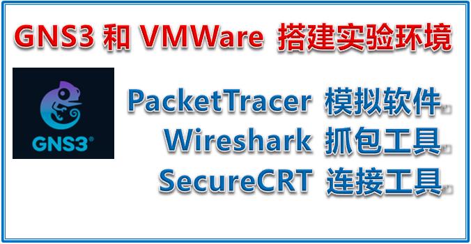 GNS3 和 VMWare 搭建实验环境 (PacketTracer、抓包工具Wireshark和连