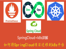 kubernetes/k8s+SpringCloud全栈技术:基于世界500强的企业实战课程