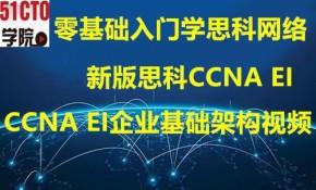2021年新版思科CCNA EI企业基础架构路由交换视频教程