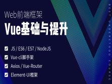 vueJS基础与t提升 vuejs前端框架 axios vuecli ES6 Vue-router