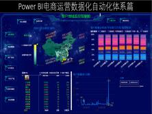 Power BI电商数据化自动化运营篇