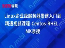 Linux企业级服务器搭建入门到精通视频课程-Centos-RHEL-MK亲授