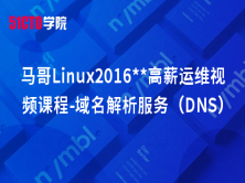 马哥Linux2016**高薪运维视频课程-域名解析服务(DNS)