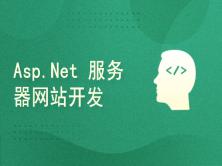 Asp.Net WEB服务器网站开发技术