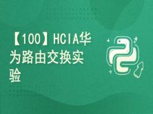 【100】HCIA华为路由交换实验讲解