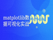 Python数据可视化 matplotlib实战