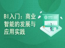 BI入门:商业智能的发展与应用实践