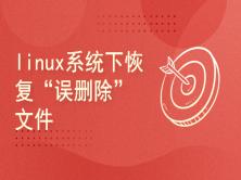 "linux系统下恢复""误删除""文件"
