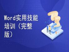 王子宁--Word实用技能培训(完整版)(买前务必看下面的课程简介!)