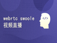 webrtc+swoole实战视频直播项目