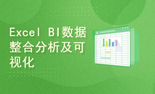 Excel BI 数据整合及析及可视化