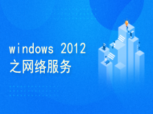 windows 2012网络服务